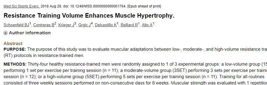 research pick resistance training volume enhances muscle